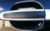 Carbon Fiber Outer Door Handle Covers fits: '03-'10 Cayenne