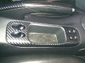 Non-Smokers Kit Carbon Fiber Cover fits: 996 and Boxster 986